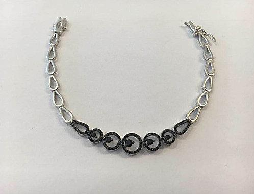 Bracelet circles, 925 silver bracelet