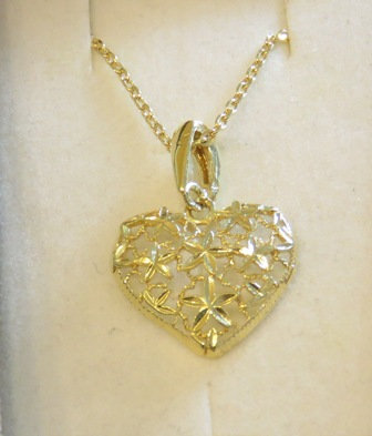 Gold-filled Heart Necklace