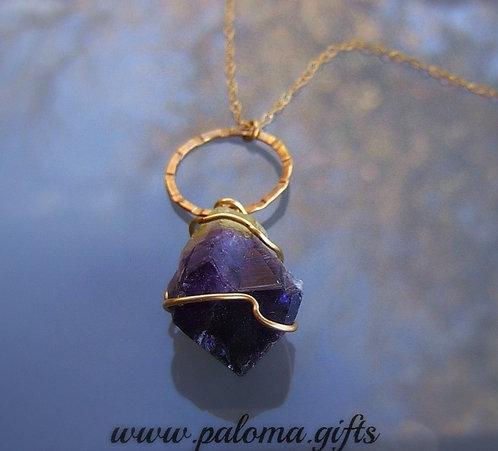 Amethyst stone , Amethyst necklace, Purple jewelry,Design jewelry,