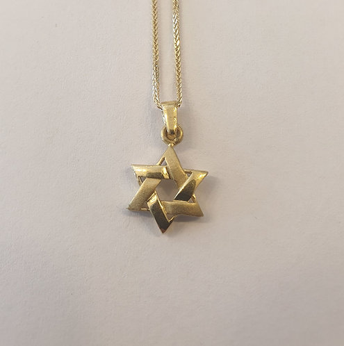 Star of David , Gold Star of necklace , Bar mitzvah gift