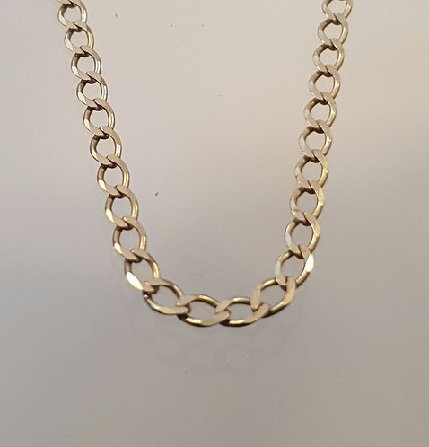 14k white gold chain , Gold necklace, white gold necklace