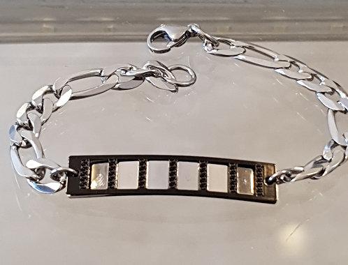 עותק של Stainless Steel  men's bracelet ,Men's gormet ,Men's jewelry