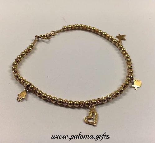 Goldfilled bracelet ,Beads bracelet, Balls beads bracelet