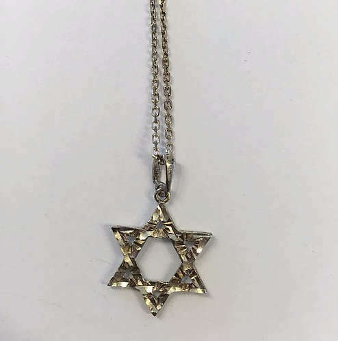 Star of David, Jewish jewelry,Silver 925