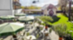 Mit dem Hubschrauber zu Jordans Untermühle