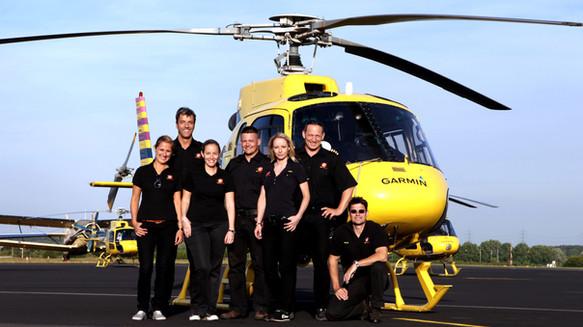 Hubschrauber-Team Garmin Egelsbach