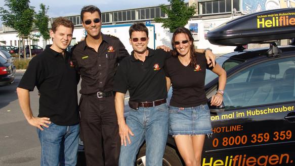 Hubschrauber-Team Egelsbach