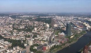 Luftbilder Frankfurt mit EC120