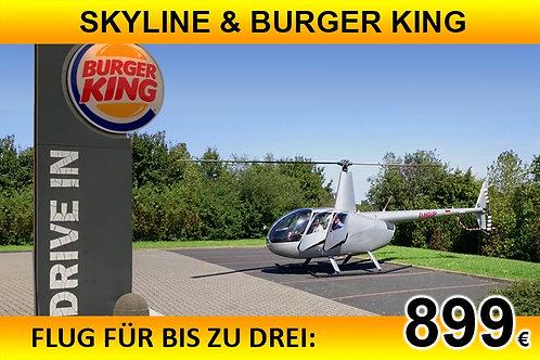 BURGER KING für bis zu drei Passagiere