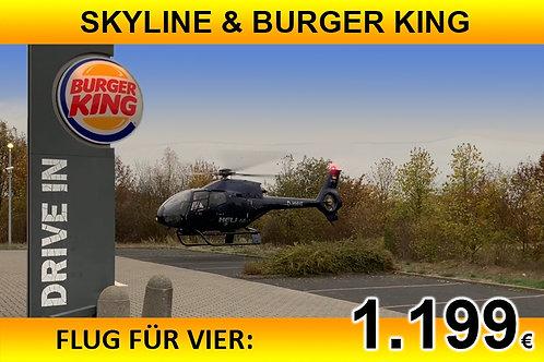 BURGER KING für bis zu vier Passagiere