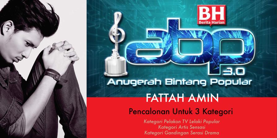 Fattah amin : Bintang Paling Popular ABPBH 3.0