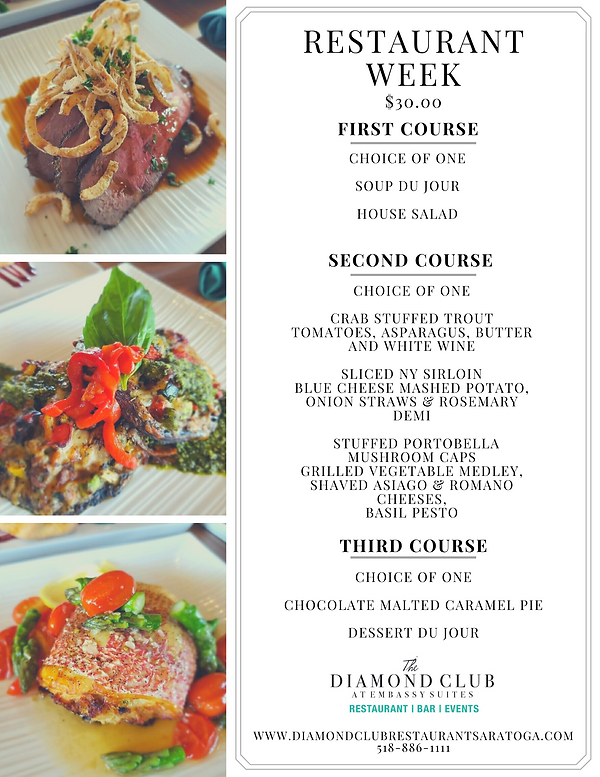 Restaurant Week Menu - Diamond Club.png