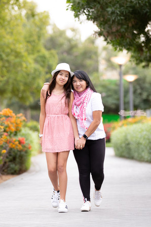 Mother & daughter photo shoot