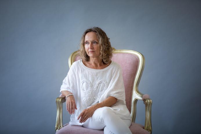 mature woman portrait