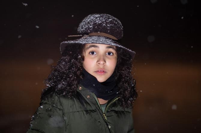 winter children portraits