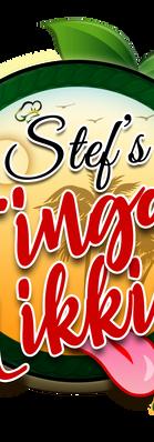 Caribbean Food Logo Design