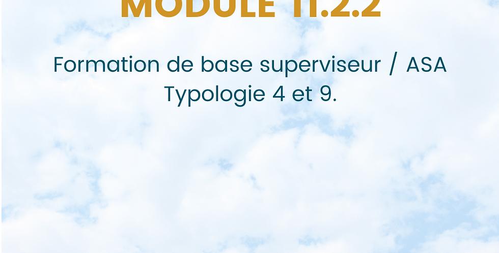 Module 11.2.2.. Formation de base Sûreté.