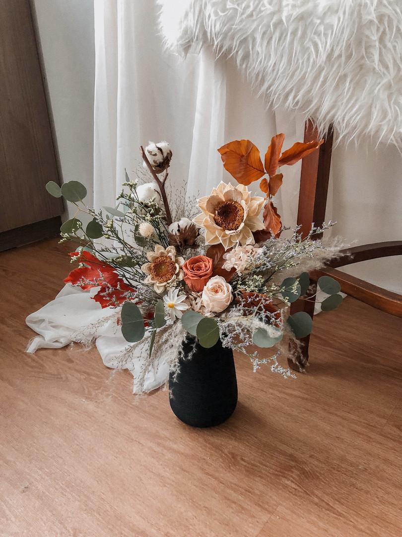 Vase: Amber