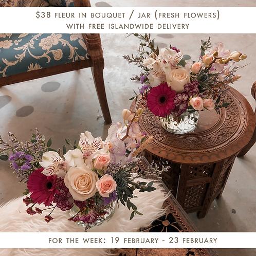 Fleur (19 Feb - 23 Feb)