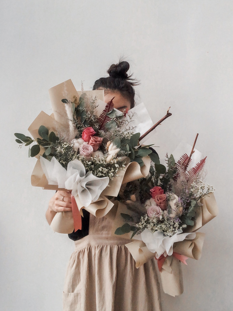 Tan & Taupe Bouquets