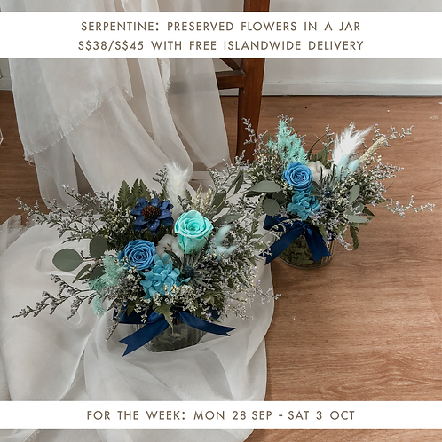 Serpentine (28 Sep - 3 Oct)