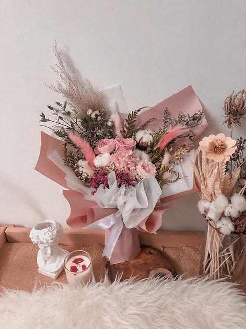 Medium+: Garden Roses in Pink