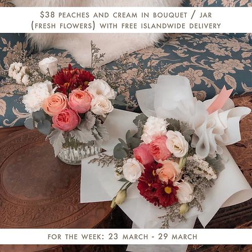Peaches & Cream (23 Mar - 29 Mar)