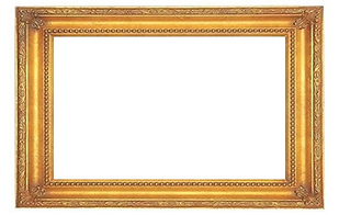 Family portrait empty frame.