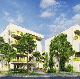 Projektform Mast - Wohngebaeude, Hockenheim DE