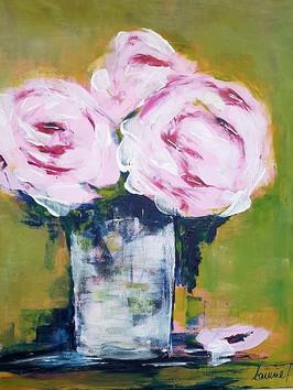 Pfingstrosen in rosa