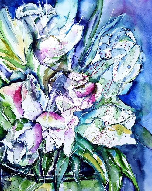 Gefüllte Tulpen (abstrakt)