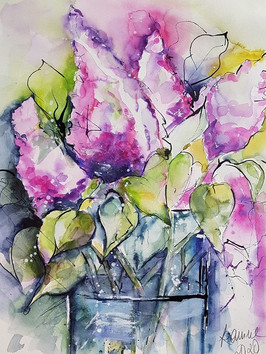 Flieder (abstrakt)