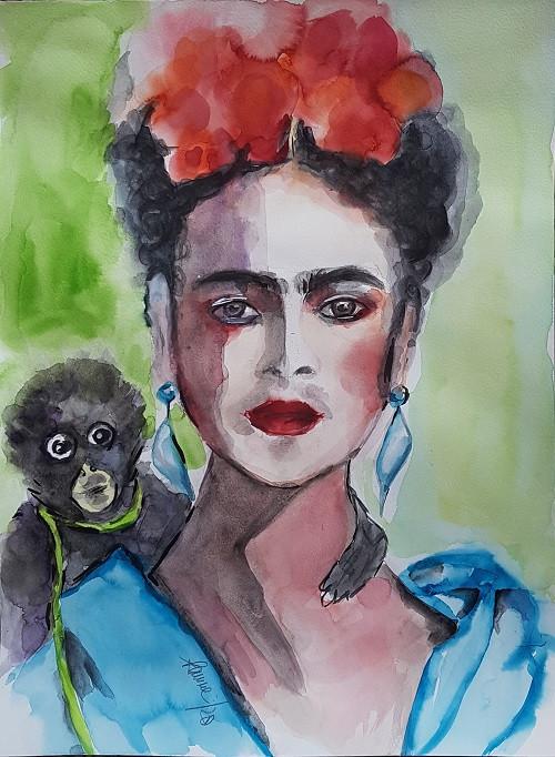 "Serie Legenden ""Frida Kahlo"""