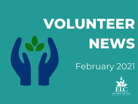 February 2021 Environmental Volunteer News