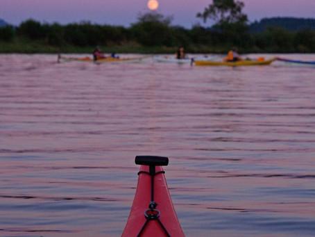 Full Moon Kayaking in Vero Beach