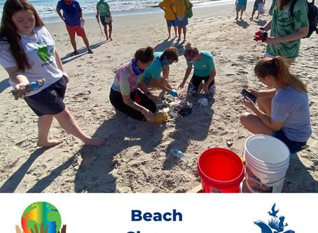 NOAA Planet Stewards Beach Cleanup Success!