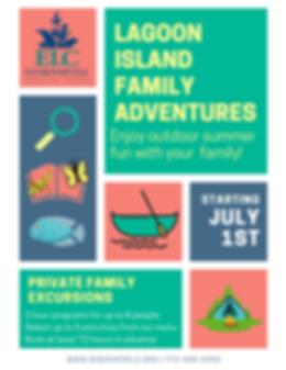 Lagoon ISland Family Adventures FLYER (1
