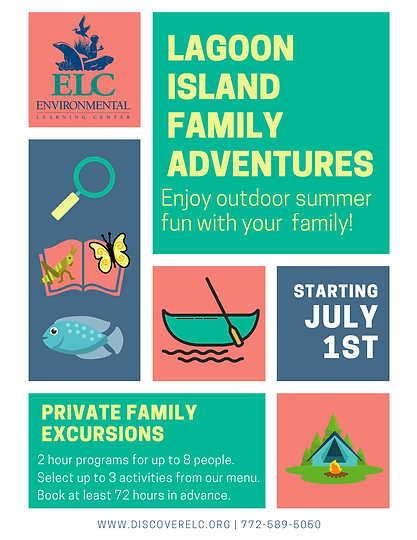 Lagoon ISland Family Adventures FLYER (1