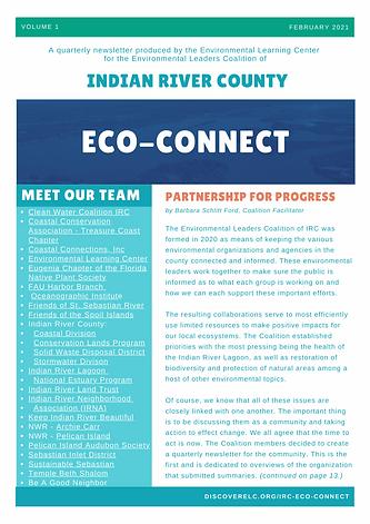 IRC Environmental Leaders Coalition News