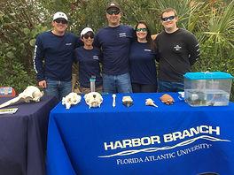 Harbor Branch Booth - EcoFest 2017 - Con