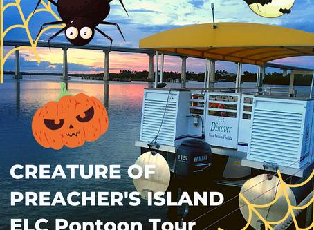 Halloween Pontoon Boat Tour on the Treasure Coast