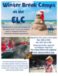 Winter Break Camps at the ELC! - Flyer (