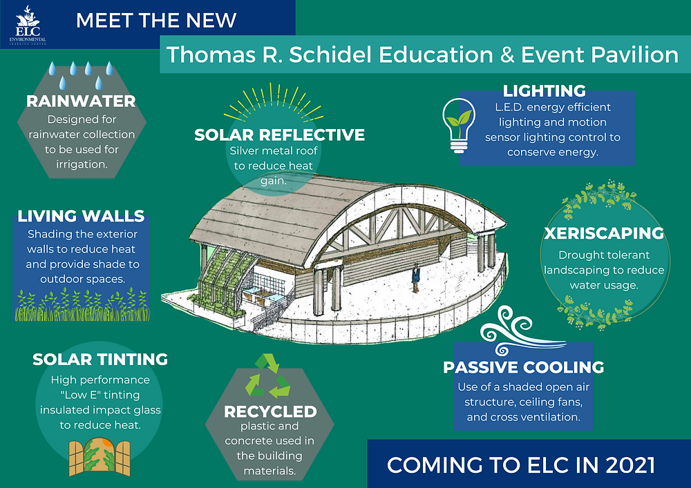 graphic of eco-friendly pavilion