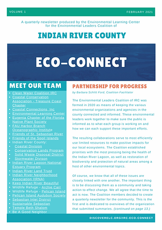 IRC Environmental Leaders Coalition News