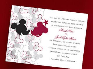 Disney Fairy Tale Wedding Invitations