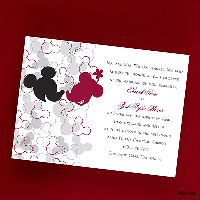 Mickey's Love Invitation