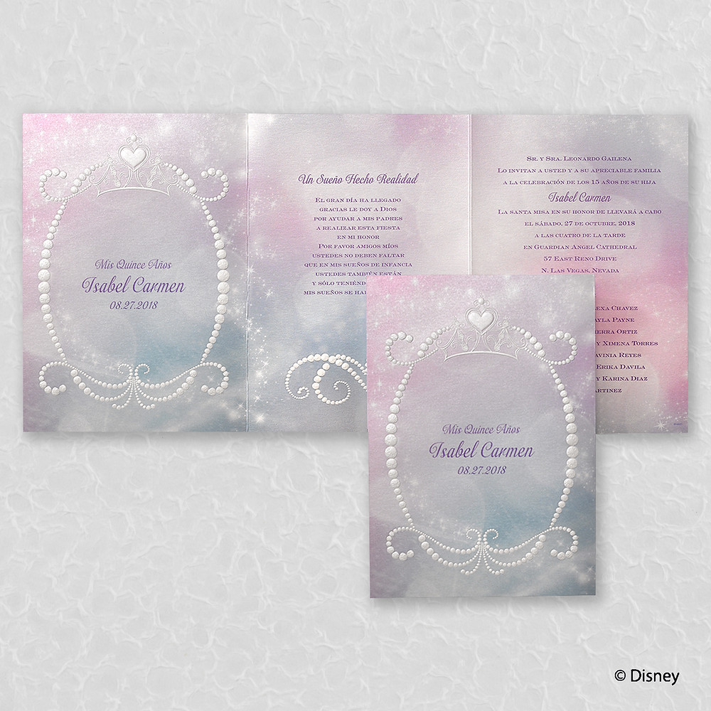 Dazzling Diamonds Invitation