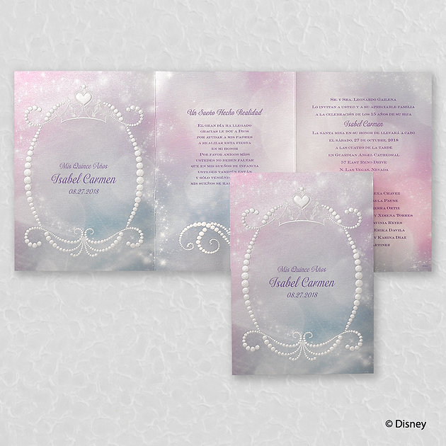 Disney Fairy Tale Wedding Invitations
