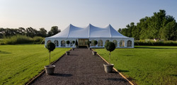 Reception marquee