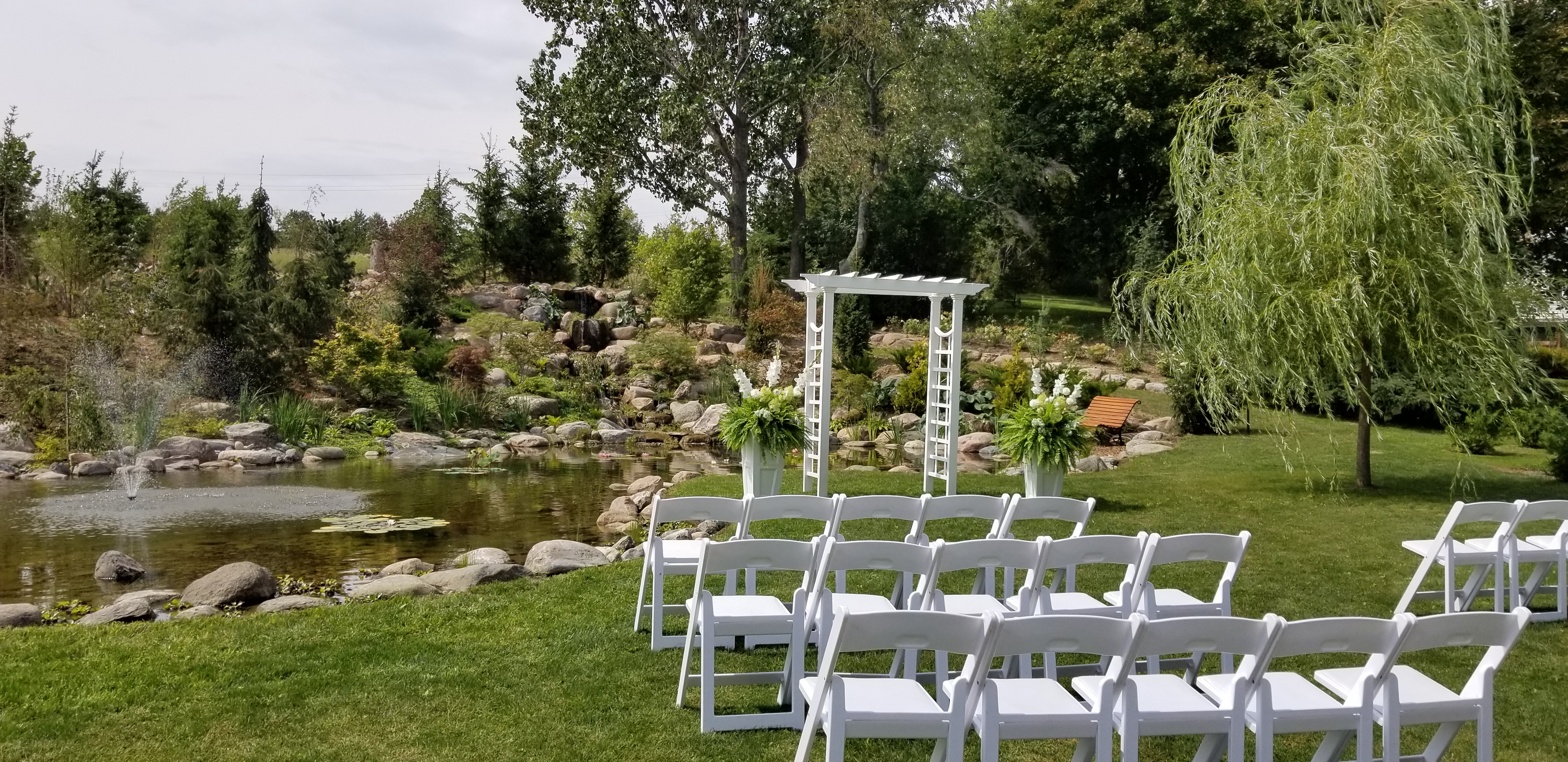 Koi Pond Ceremony Site